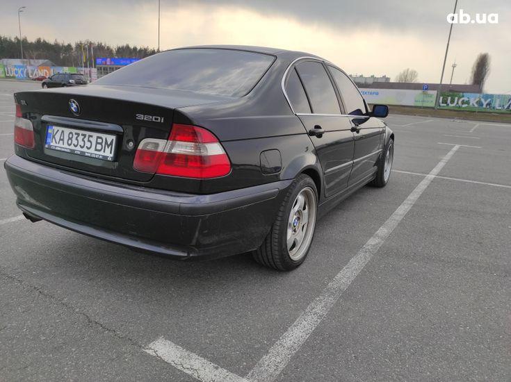 BMW 3 серия 2003 черный - фото 6