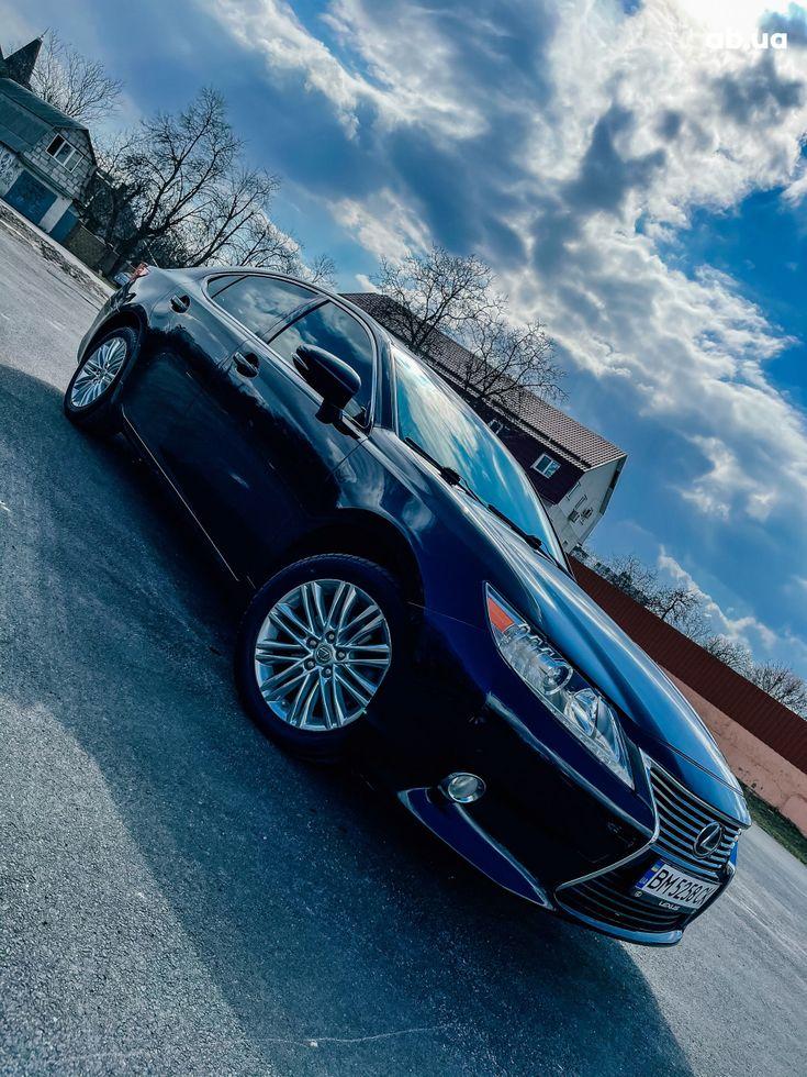 Lexus es 350 2013 черный - фото 9
